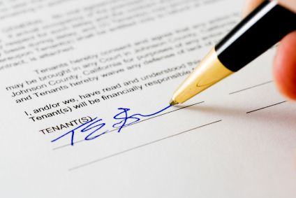 co-signer agreement